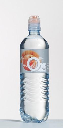 O2 life pet 6 x 0,75 l orange-citrus ST