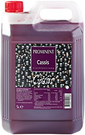 Prominent Limonadesiroop can 5 l cassis