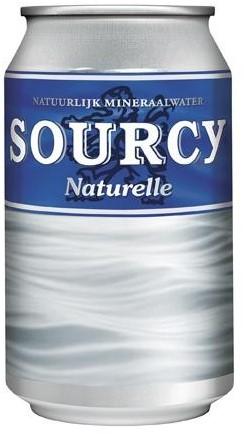 Sourcy Blauw blik 24 x 0,33 l