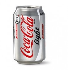 Coca Cola Light blik 24 x 0,33 l