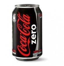Coca Cola Zero blik 24 x 0,33 l