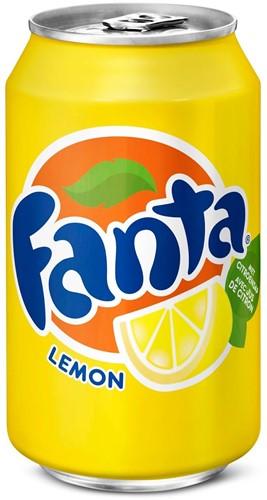 Fanta Lemon blik 24 x 0,33 l