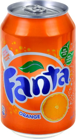 Fanta Orange (int) blik 24 x 0,33 l