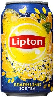 Lipton Ice Tea Sparkling blik 24 x 0,33 l