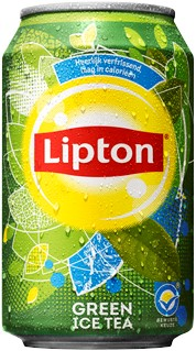 Lipton Ice Tea Green blik 24 x 0,33 l