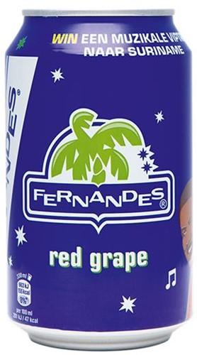 Fernandes Red Grape blik 24 x 0,33 l