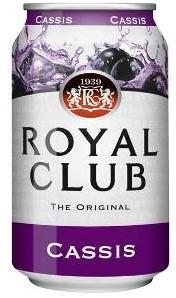 Royal Club Cassis blik 24 x 0,33 l