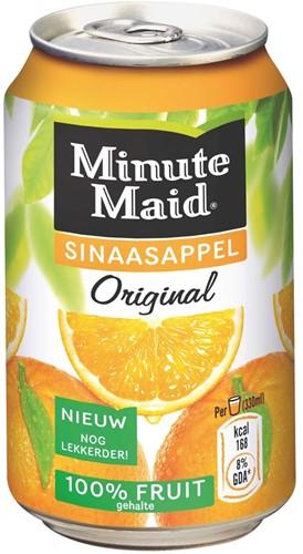 Minute Maid Orange blik 24 x 0,33 l
