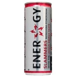 Slammers Energy Drink blik 24 x 0,25 l