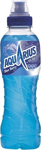 Aquarius pet 12 x 0,5 l iso blue ice