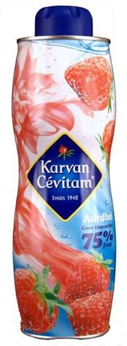 Karvan Cevitam fles 0,75 l aardbei