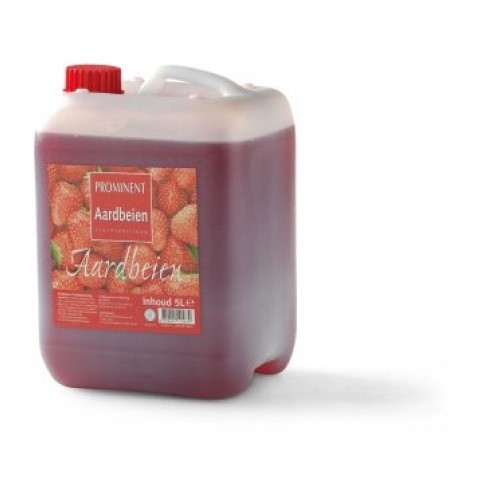 Prominent Limonadesiroop can 5 l aardbei