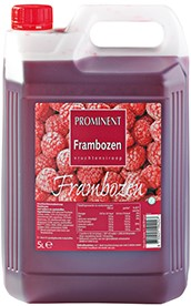 Prominent limonadesiroop can 5 l framboos