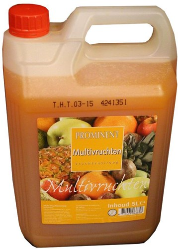 Prominent limonadesiroop can 5 l multivruchten