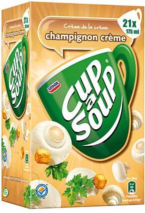Cup a Soup doos 21 st champignon creme