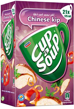 Cup a Soup doos 21 st chinese kip