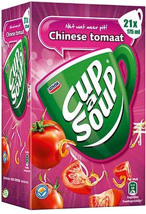 Cup a Soup doos 21 st chinese tomaat