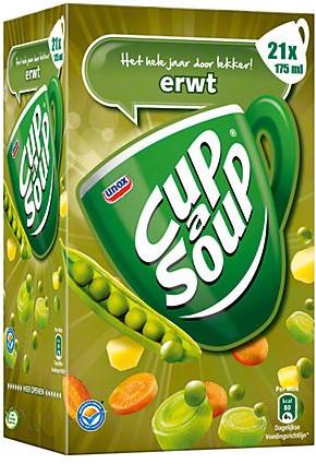 Cup a Soup Erwt doos 21 st x 175 ml
