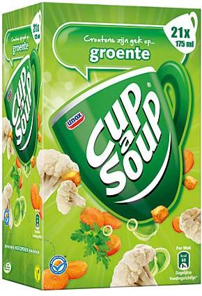 Cup a Soup doos 21 st groente