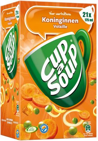 Cup a Soup doos 21 st koninginnen