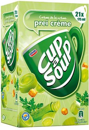 Cup a Soup doos 21 st prei creme