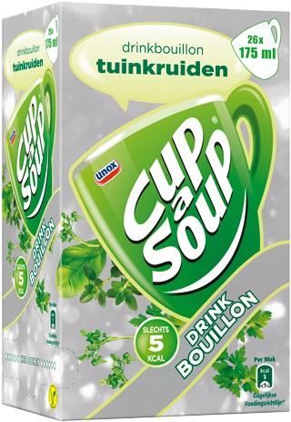 Cup a Soup Bouillon doos 26 st tuinkruiden