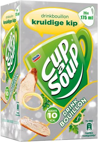 Cup a Soup Bouillon doos 26 st kruidige kip