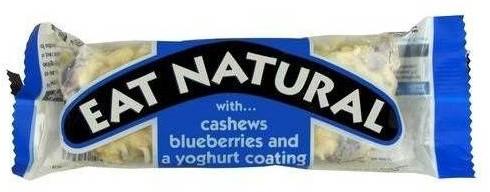 Eat Natural Milk chocolate 12st BLAUW