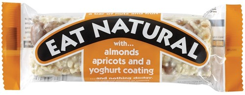Eat Natural Almond & Apricot 12 st ORANJE