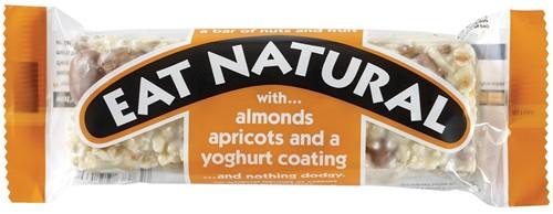 Eat Natural Almond & Apricot 12 st ORANJE