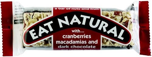 Eat Natural Dark chocolate 12 st ROOD