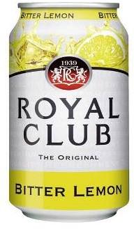 Royal Club Bitter Lemon blik 24 x 0,33 l