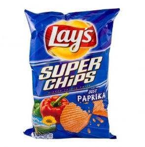 Lay's superchips paprika zak 8 x 200 gr