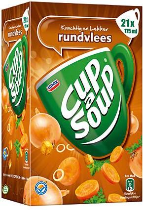 Cup a Soup Rundvlees doos 21 st x 175 ml