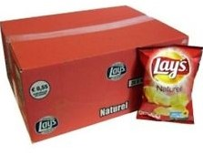 Lay's chips naturel 20 x 40 gr