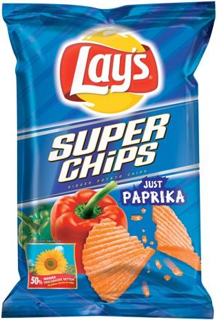 Lay's superchips paprika 20 x 45 gr