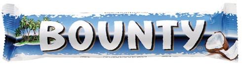 Bounty Melk doos 24 x 57 gr.