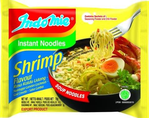 Indo Mie  Shrimp 5 x 70 gr