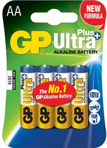 GP Batterijen AA Alkaline ultra 4 st