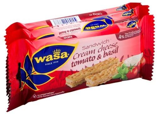Wasa Sandwich tomaat/basilicum 24 st