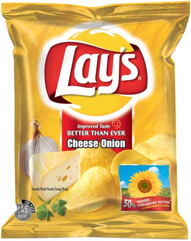 Lay's chips cheese onion 20 x 40 gr