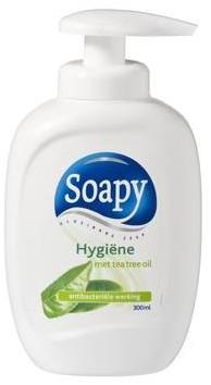 Soapy handzeep hygiene pomp fles 3 x 300 ml