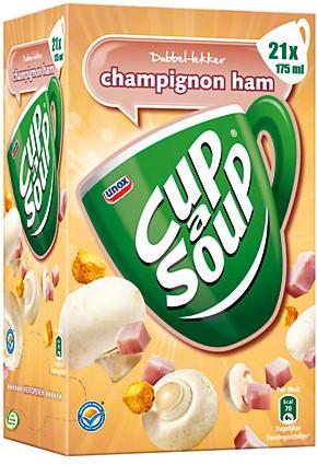 Cup a Soup doos 21 st champignon-ham