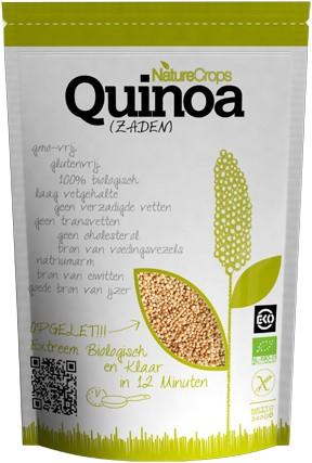 Naturecrops Bio Quinoa Zaden zak 1,5 kg