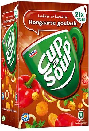 Cup a Soup doos 21 st hongaarse goulash