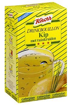 Knorr drinkbouillon 80 st kip met tuinkruiden