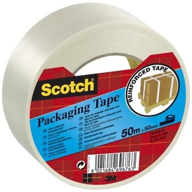 Scotch verpakkingstape transparant 50 X 60