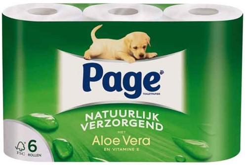 Page toiletpapier Aloe Vera