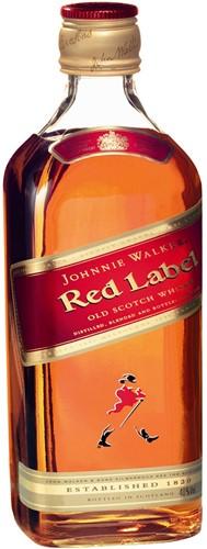 Johnnie Walker Whisky Red Label fles 1 liter