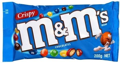 M & M's Crispy zak 24 x 36 gr